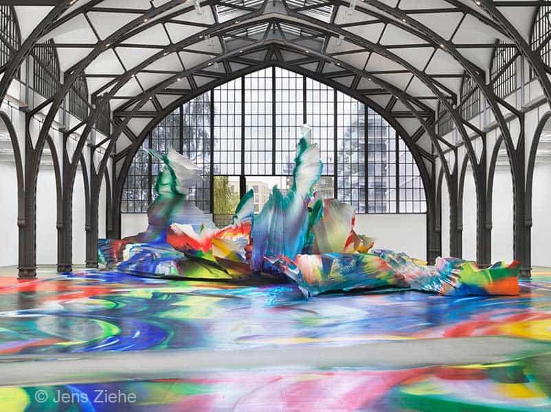 Kunstwerk am Hamburger Bahnhof in Berlin